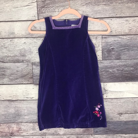 The Children's Place Purple Suede-like Dress